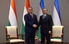 Президент Узбекистана принял Премьер-министра Венгрии