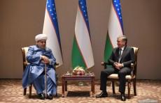 Президент Узбекистана принял председателя Управления мусульман Кавказа