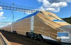 В Узбекистан отправили очередной электропоезд «Афросиаб» из России