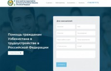 Посольство Узбекистана в РФ запустило сайт для трудовых мигрантов