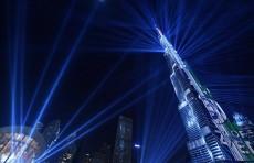 Лазерное шоу в Дубае попало в Книгу рекордов Гиннесса