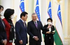 Президент Шавкат Мирзиёев принял делегацию парламента Южной Кореи