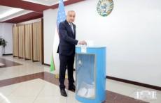 Хоким Джахонгир Артыкходжаев принял участие в голосовании