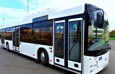 В Ташкенте начали тестировать автобусы из Белоруссии
