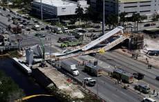 Шесть человек погибли в результате обрушения моста во Флориде