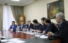 Глава Мининфокома принял делегацию ЕБРР и PwC