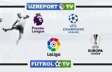 Смотрите на UZREPORT TV и FUTBOL TV матчи нового сезона Европейских чемпионатов