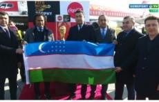 Умид Ахмаджонов встретил делегацию ФИФА и Кристиана Карамбё