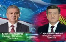 Шавкат Мирзиёев поздравил Сооронбая Жээнбекова с днем рождения