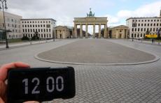 Коронавирус: фотографы зафиксировали в полдень почти безлюдные улицы крупных городов