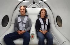 Скоростную транспортную систему Hyperloop впервые испытали с пассажирами (Видео)