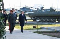Президент Шавкат Мирзиёев посетил парк «Ватанпарварлар»