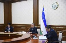 Президент встретился с лидерами политических партий