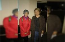 Сотрудники ГУВД Ташкента помогли пропавшей девочке вернуться домой