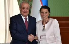 Посол Франции Виолен де Вильмор завершает свою миссию в Узбекистане