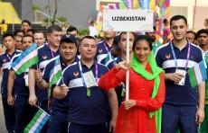 Азиатские игры-2018: В Джакарте подняли флаг Узбекистана
