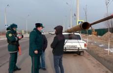 ГУБДД провело рейд по всей стране и выявило нарушителей правил перевозки