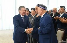 Президент побеседовал с активом Сырдарьинской области