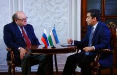 Интервью с Послом Российской Федерации в Узбекистане Владимиром Тюрденевым