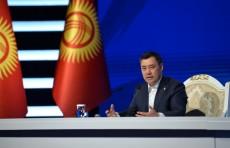 Садыр Жапаров отказался от кортежа и банкета в день инаугурации