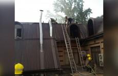 В кафе «Territoriya» в Чиланзарском районе произошел пожар