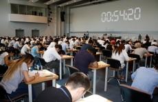 Слушатели Центра непрерывного образования при IUT сдали вступительные экзамены