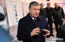 Президент Шавкат Мирзиёев посетил Тахиаташский район