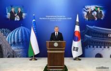 Шавкат Мирзиёев: Республика Корея - один из ключевых проводников цифровых и «зеленых» технологий в Узбекистан