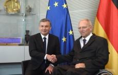 Президент Шавкат Мирзиёев встретился с Председателем Бундестага