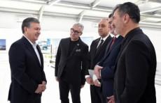 Шавкат Мирзиёев ознакомился с проектом делового центра Tashkent Сity