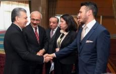 Шавкат Мирзиёев встретился с главами турецких компаний и банков