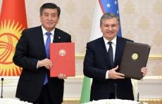 Президенты Узбекистана и Кыргызстана встретились с представителями СМИ
