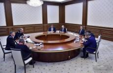 Президент Шавкат Мирзиёев принял делегацию США