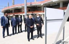 Президент ознакомился с ходом строительства международного аэропорта Самарканда