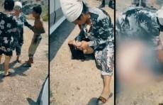 В Ташкентской области над женщиной, купавшейся в реке, устроили самосуд