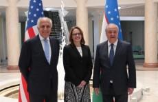 Министр иностранных дел принял спецпредставителя США по Афганистану