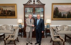 Абдулазиз Камилов встретился с Советником Президента США по нацбезопасности