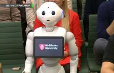 Робот Пеппер поучаствовал на очередном собрании британского парламента (Видео)