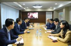 В Минэнерго прошла встреча с китайской компанией СМЕС