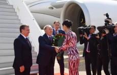 Президент Казахстана прибыл в Ташкент