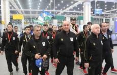 В аэропорту Ташкента встретили участников чемпионата Азии по боксу