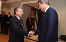 Шавкат Мирзиёев встретился с Премьер-министром Баварии Маркусом Зёдером