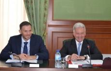 Абдулазиз Камилов принял заместителя главы МИД Великобритании Алана Дункана