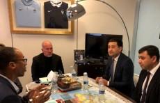 Для развития детского футбола привлекут специалистов из Франции
