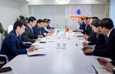 В АО «Узбекнефтегаз» обсудили вопросы поставки узбекского газа в Китай