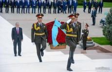Президент Касым-Жомарт Токаев посетил площадь Мустакиллик