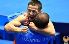 Узбекистанец  стал пятикратным чемпионом Азии по борьбе