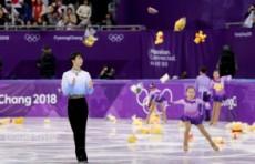 ТОП-10 запоминающихся моментов Олимпиады: Мишки Ханю