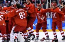 Российские хоккеисты - олимпийские чемпионы!