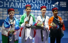 Амир Тураев завоевал серебряную медаль на ЧМ по таэквондо